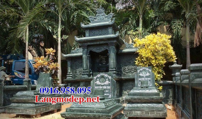 100 Mẫu khu lăng mộ đá xanh đẹp nhất 123