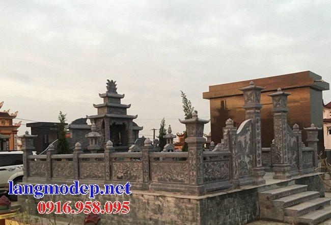 100 Mẫu khu lăng mộ đá xanh đẹp nhất 27