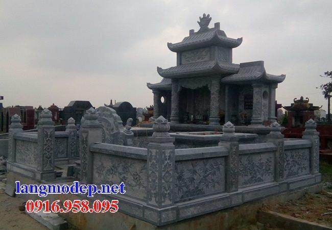 100 Mẫu khu lăng mộ đá xanh đẹp nhất 38