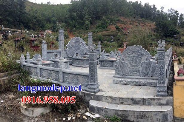 100 Mẫu khu lăng mộ đá xanh đẹp nhất 42