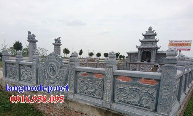 100 Mẫu khu lăng mộ đá xanh đẹp nhất 45