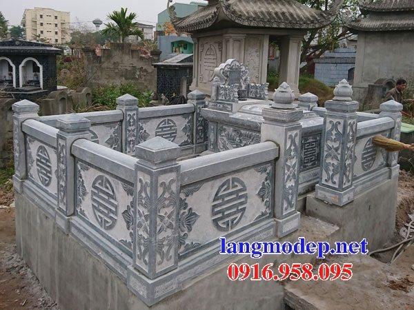 100 Mẫu khu lăng mộ đá xanh đẹp nhất 46