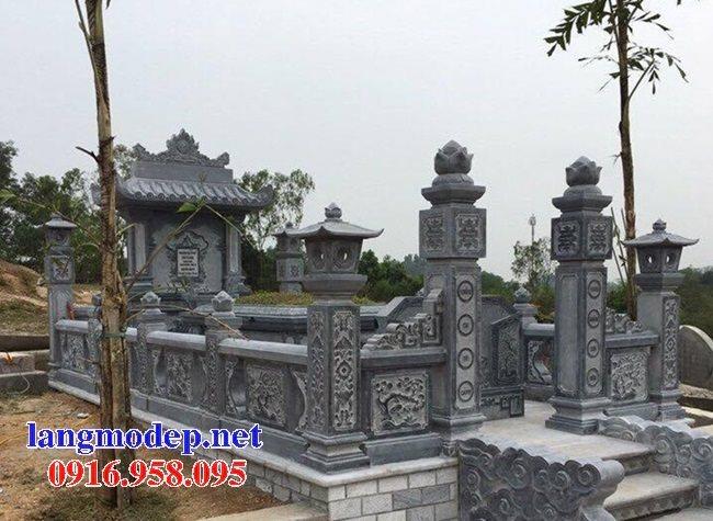 100 Mẫu khu lăng mộ đá xanh đẹp nhất 48