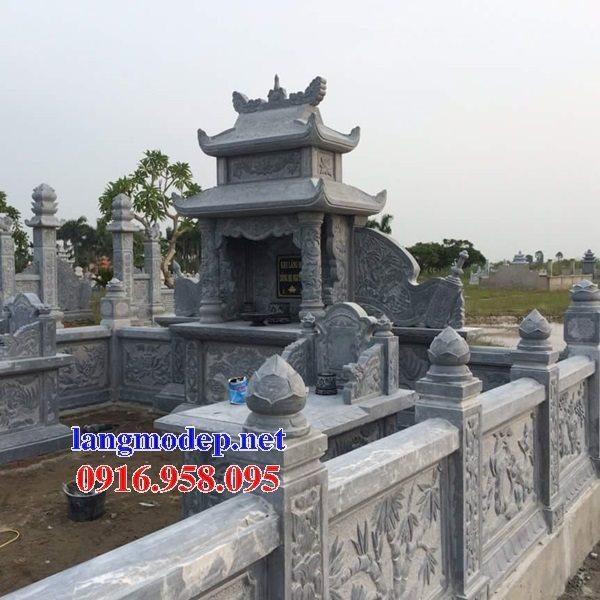 100 Mẫu khu lăng mộ đá xanh đẹp nhất 63