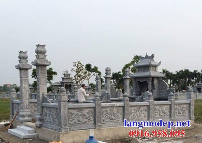 100 Mẫu khu lăng mộ đá xanh đẹp nhất 69