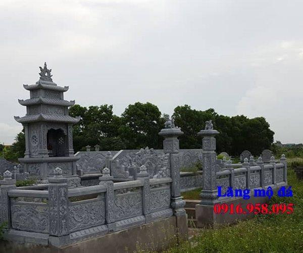 100 Mẫu khu lăng mộ đá xanh đẹp nhất 78