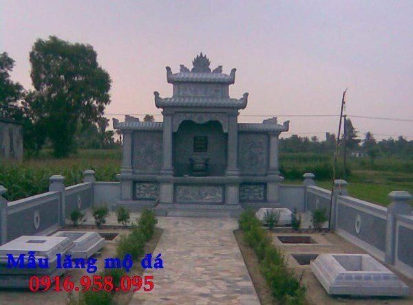 100 Mẫu khu lăng mộ đá xanh đẹp nhất 80