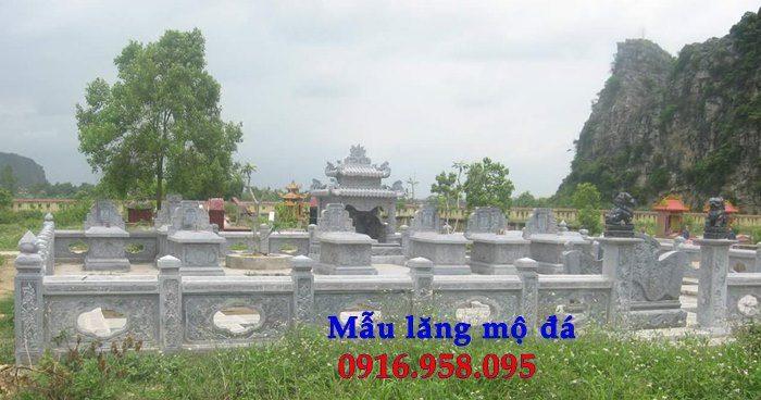 100 Mẫu khu lăng mộ đá xanh đẹp nhất 82