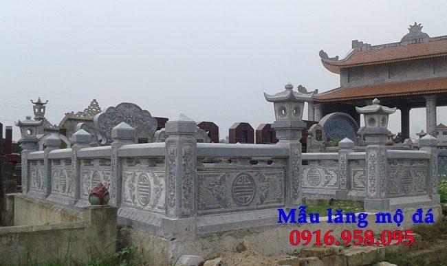 100 Mẫu khu lăng mộ đá xanh đẹp nhất 84