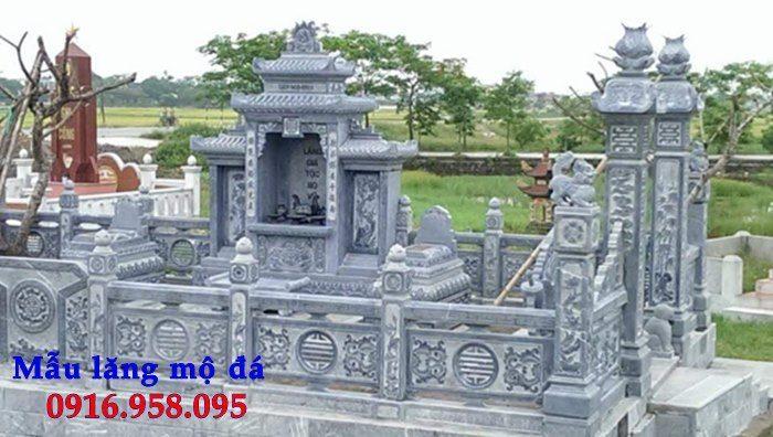 100 Mẫu khu lăng mộ đá xanh đẹp nhất 86