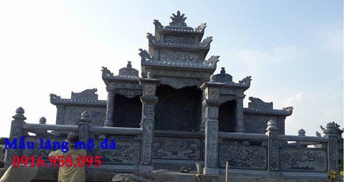 100 Mẫu khu lăng mộ đá xanh đẹp nhất 91