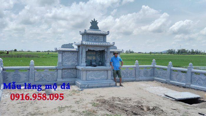 100 Mẫu khu lăng mộ đá xanh đẹp nhất 92