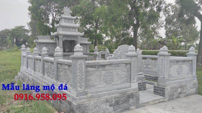 100 Mẫu khu lăng mộ đá xanh đẹp nhất 93