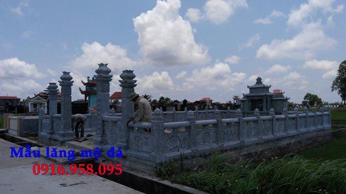 100 Mẫu khu lăng mộ đá xanh đẹp nhất 94