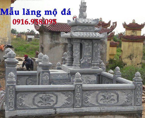 100 Mẫu khu lăng mộ đá xanh đẹp nhất 97