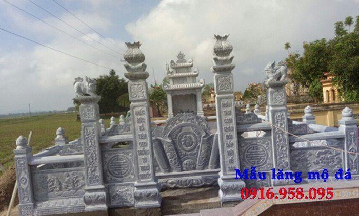 100 Mẫu khu lăng mộ đá xanh đẹp nhất 98