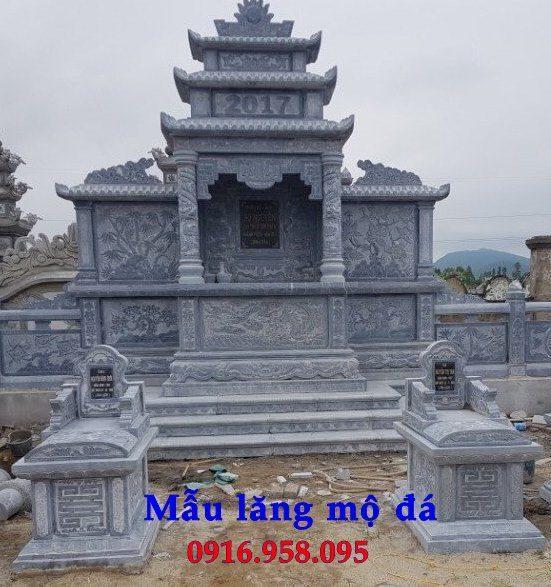 100 Mẫu khu lăng mộ đá xanh đẹp nhất 99