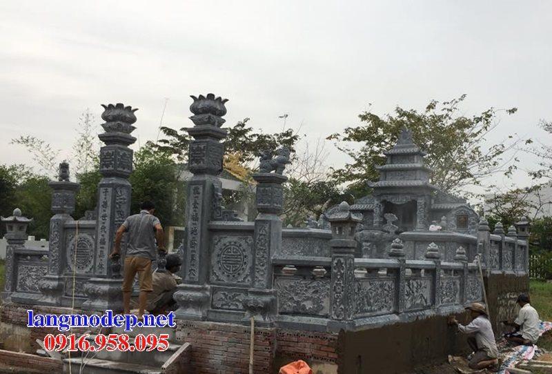 Mẫu lăng mộ đá cất để cốt đẹp bán tại Sài Gòn 05