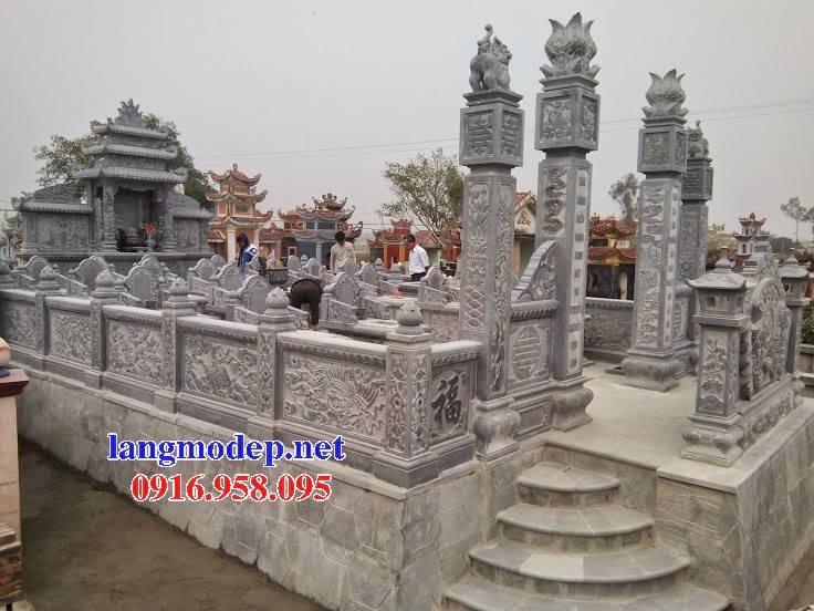 Mẫu lăng mộ đá cất để cốt đẹp bán tại Sài Gòn 06