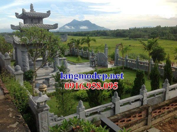 Mẫu lăng mộ đá cất để cốt đẹp bán tại Sài Gòn 08