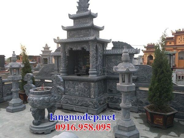 100 Mẫu lư hương đỉnh hương đèn thờ lăng mộ nghĩa trang gia đình dòng họ bằng đá xanh tự nhiên đẹp