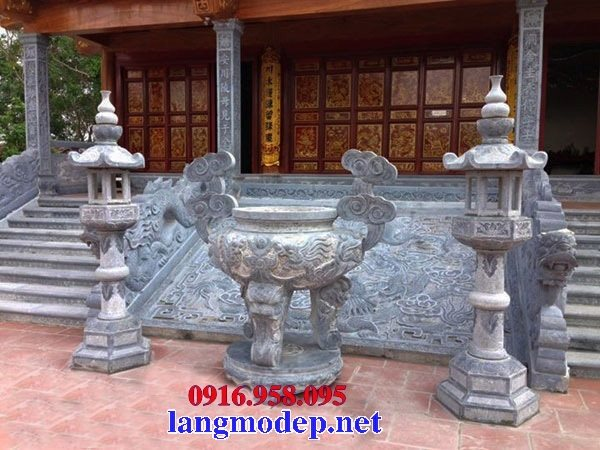 100 Mẫu lư hương đỉnh hương đèn thờ nhà thờ họ từ đường đình đền chùa miếu bằng đá đẹp nhất hiện nay