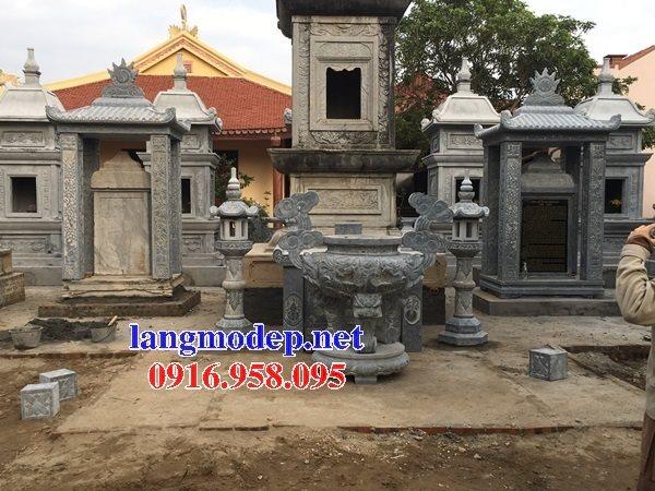 100 Mẫu lư hương đỉnh hương khu lăng mộ nghĩa trang gia đình dòng họ bằng đá đẹp bán tại bình dương