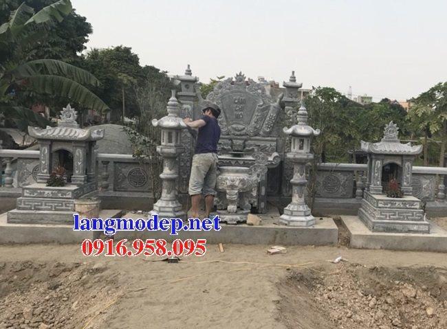 100 Mẫu lư hương đỉnh hương khu lăng mộ nghĩa trang gia đình dòng họ bằng đá đẹp bán tại hòa bình