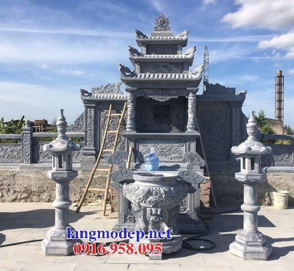 100 Mẫu lư hương đỉnh hương khu lăng mộ nghĩa trang gia đình dòng họ bằng đá đẹp bán tại nghệ an