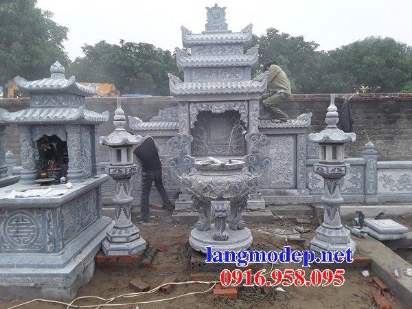 100 Mẫu lư hương đỉnh hương khu lăng mộ nghĩa trang gia đình dòng họ bằng đá đẹp bán tại quảng bình
