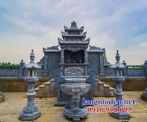 100 Mẫu lư hương đỉnh hương khu lăng mộ nghĩa trang gia đình dòng họ bằng đá đẹp bán tại thái nguyên