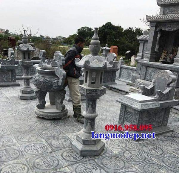 100 Mẫu lư hương đỉnh hương khu lăng mộ nghĩa trang gia đình dòng họ bằng đá đẹp bán tại vĩnh long