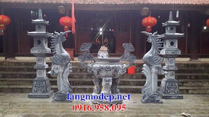 100 Mẫu lư hương đỉnh hương nhà thờ họ từ đường đình đền chùa miếu bằng đá đẹp bán tại đồng nai
