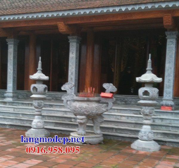 100 Mẫu lư hương đỉnh hương nhà thờ họ từ đường đình đền chùa miếu bằng đá đẹp bán tại đồng tháp