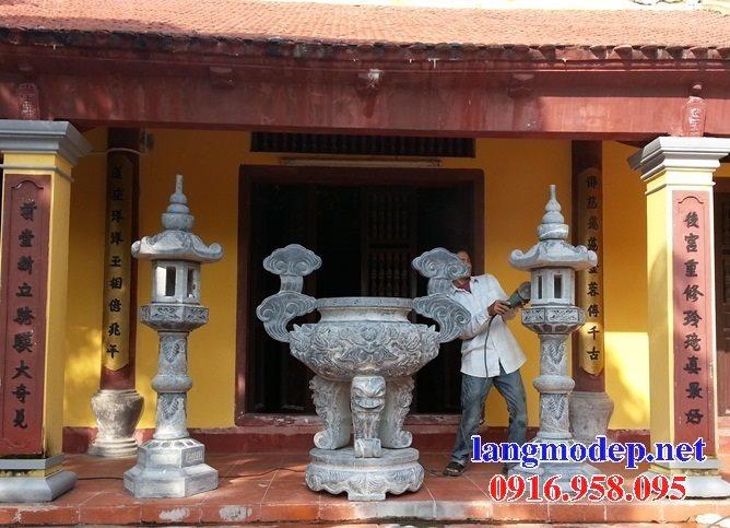 100 Mẫu lư hương đỉnh hương nhà thờ họ từ đường đình đền chùa miếu bằng đá đẹp bán tại TP hồ chí minh