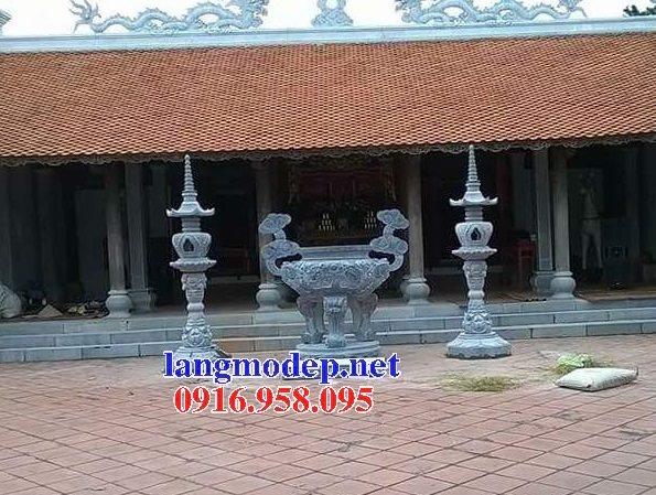 100 Mẫu lư hương đỉnh hương nhà thờ họ từ đường đình đền chùa miếu bằng đá đẹp bán tại an giang