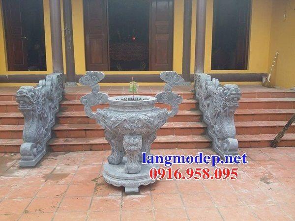 100 Mẫu lư hương đỉnh hương nhà thờ họ từ đường đình đền chùa miếu bằng đá đẹp bán tại bình thuận
