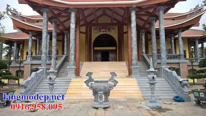 100 Mẫu lư hương đỉnh hương nhà thờ họ từ đường đình đền chùa miếu bằng đá đẹp bán tại bạc liêu