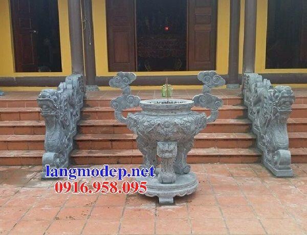 100 Mẫu lư hương đỉnh hương nhà thờ họ từ đường đình đền chùa miếu bằng đá đẹp bán tại bắc giang