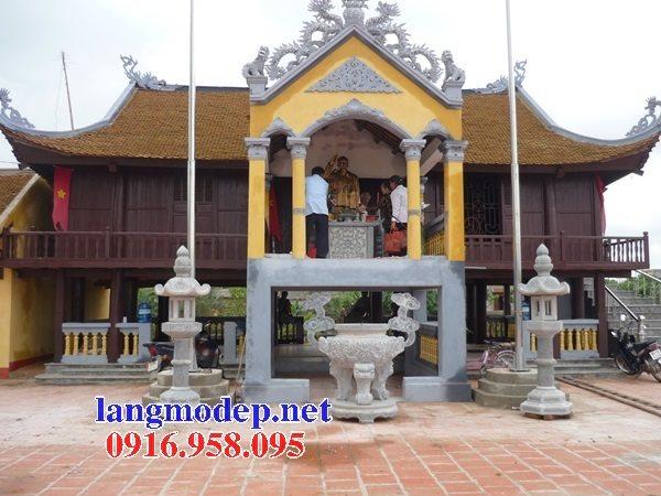 100 Mẫu lư hương đỉnh hương nhà thờ họ từ đường đình đền chùa miếu bằng đá đẹp bán tại bến tre
