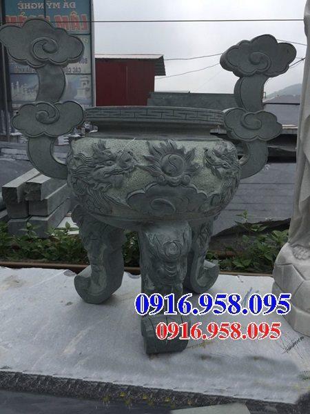 100 Mẫu lư hương đỉnh hương nhà thờ họ từ đường đình đền chùa miếu bằng đá đẹp bán tại gia lai