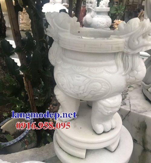 100 Mẫu lư hương đỉnh hương nhà thờ họ từ đường đình đền chùa miếu bằng đá đẹp bán tại hà nam