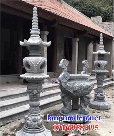 100 Mẫu lư hương đỉnh hương nhà thờ họ từ đường đình đền chùa miếu bằng đá đẹp bán tại hưng yên