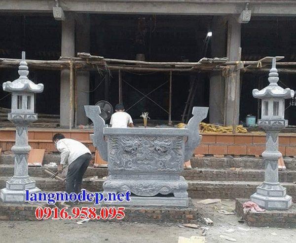 100 Mẫu lư hương đỉnh hương nhà thờ họ từ đường đình đền chùa miếu bằng đá đẹp bán tại hải dương