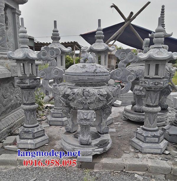 100 Mẫu lư hương đỉnh hương nhà thờ họ từ đường đình đền chùa miếu bằng đá đẹp bán tại khánh hòa