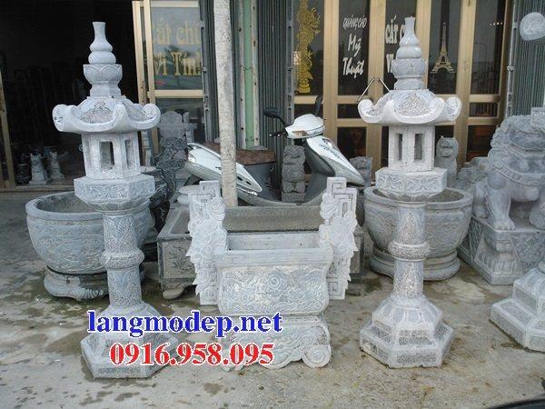 100 Mẫu lư hương đỉnh hương nhà thờ họ từ đường đình đền chùa miếu bằng đá đẹp bán tại kom tum