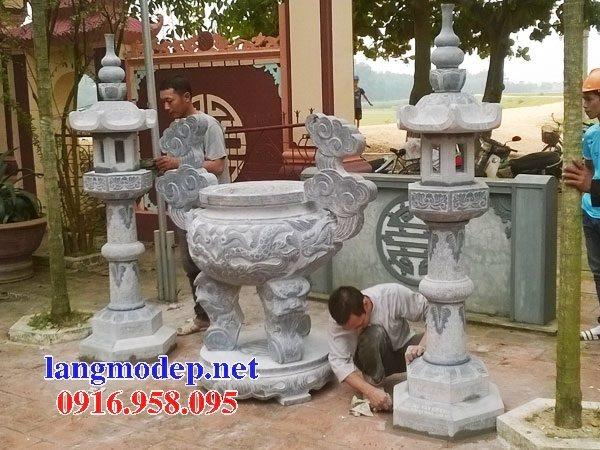 100 Mẫu lư hương đỉnh hương nhà thờ họ từ đường đình đền chùa miếu bằng đá đẹp bán tại long an