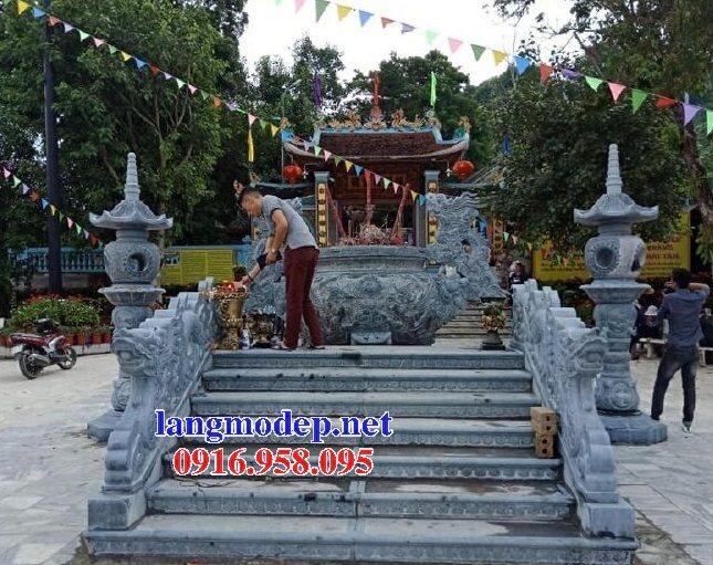100 Mẫu lư hương đỉnh hương nhà thờ họ từ đường đình đền chùa miếu bằng đá đẹp bán tại nam định