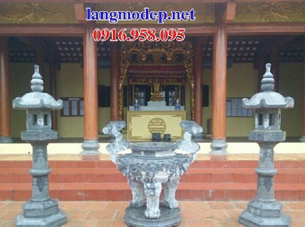 100 Mẫu lư hương đỉnh hương nhà thờ họ từ đường đình đền chùa miếu bằng đá đẹp bán tại ninh thuận
