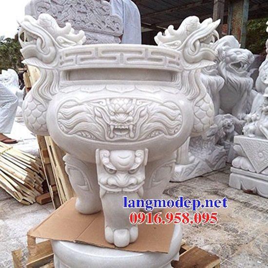 100 Mẫu lư hương đỉnh hương nhà thờ họ từ đường đình đền chùa miếu bằng đá đẹp bán tại quảng trị